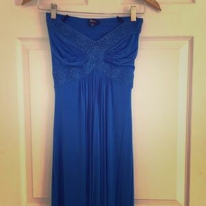 Sky maxi dress royal blue xs